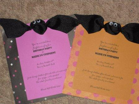 Precious Birthday Party Invitations and A Sweet 4 Year Old Nanahood