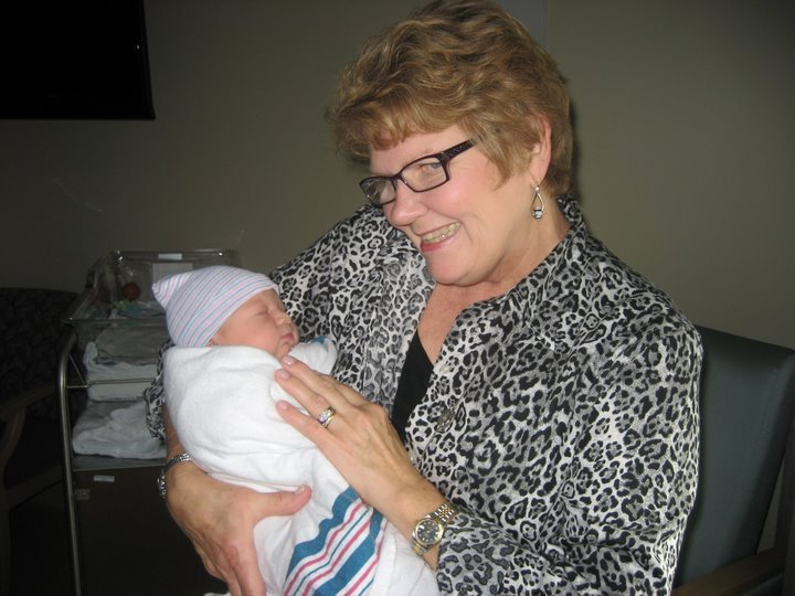 Judy and new granddaughter Eva!