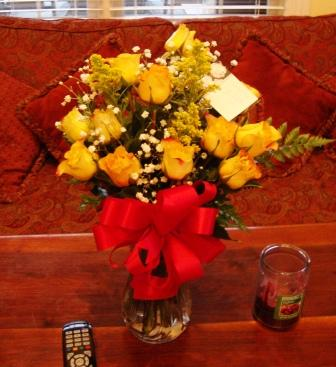 Yellow roses are my favorite.