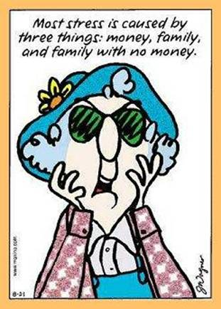 Old Lady Cartoon Maxine