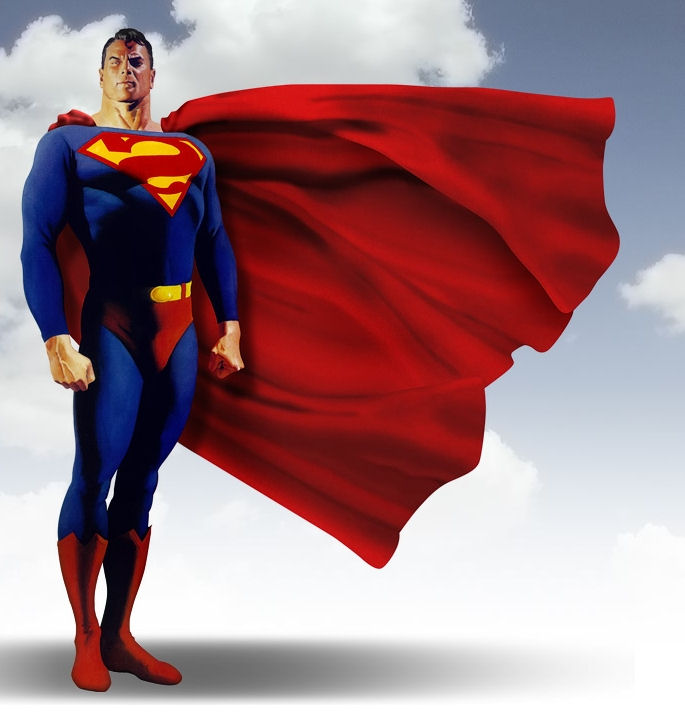 Kostum Superman tidak pernah lepas - www.jurukunci.net