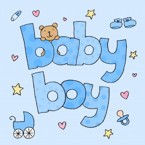writing a baby boy card