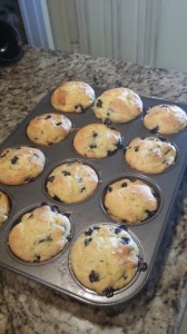 Blueberry Cake Muffins