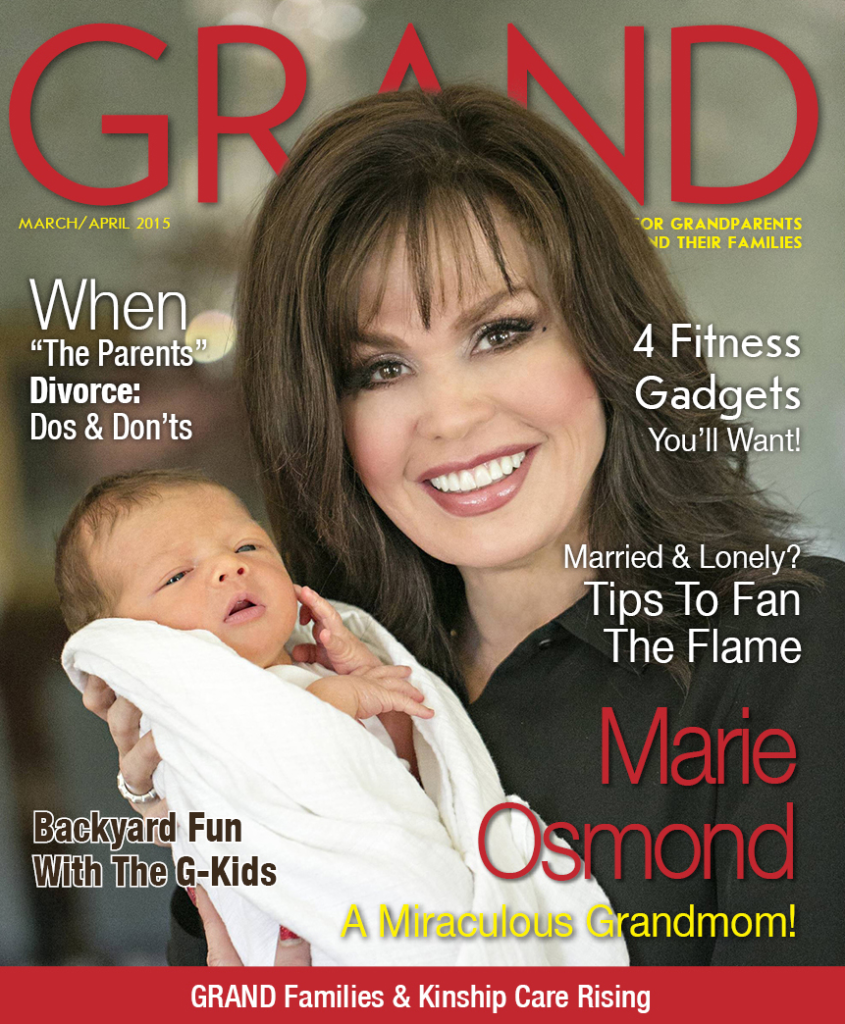 Mar April 2015 GRAND Cover - Marie Osmond