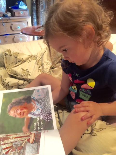 Kennedy reading Some Grandmas