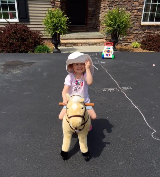The Kentucky Derby winner is my granddaughter!