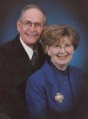 Ben Thompson's grandparents, Larry and Maedene Coffey.