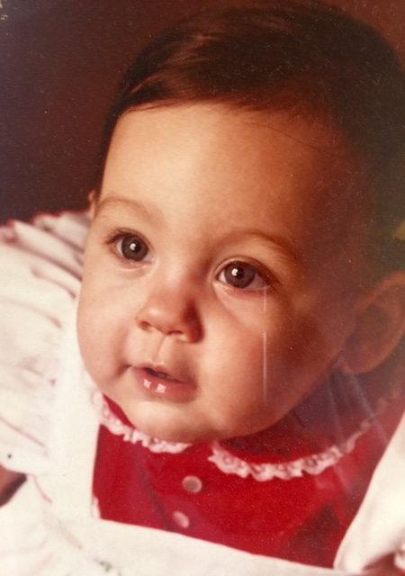 rachel as a baby