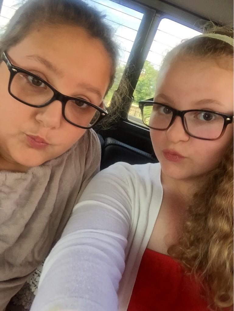 Abby and Sophia