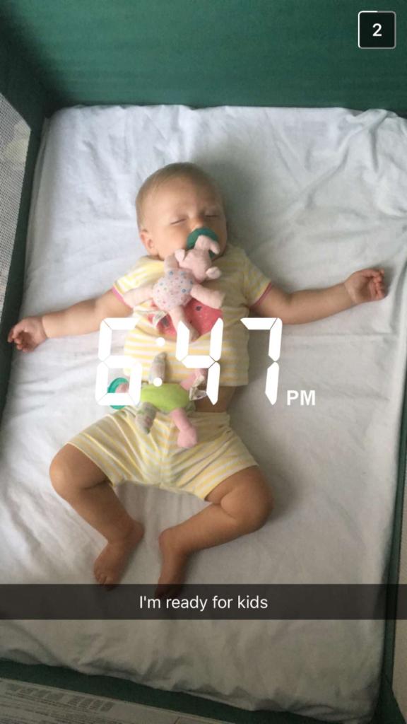 Blakely sleeping