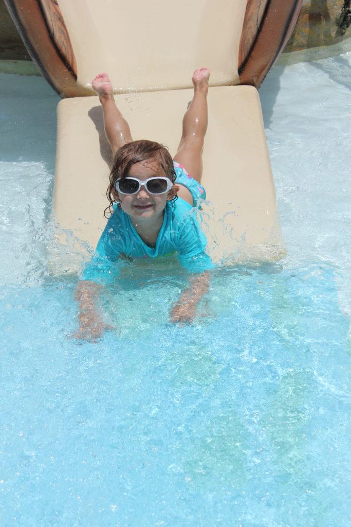 k on slide-family vacation
