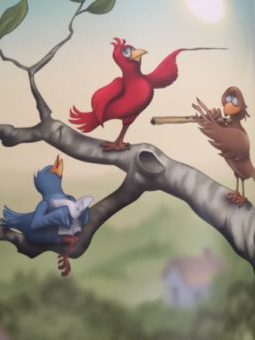 birds in book series