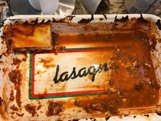 easy lasagna for dinner