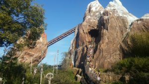 roller coasters in Disney World