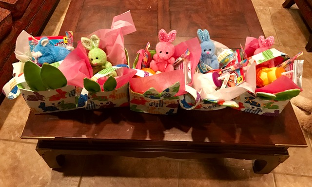 unique easter baskets