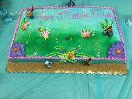 little mermaid cake design