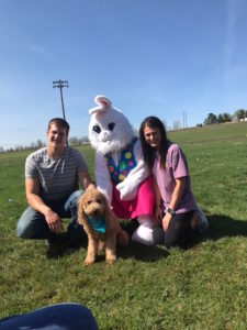 Easter Egg Dog Bone Hunt