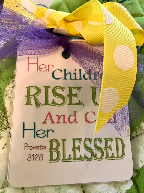 Mothers Day craft for church kids